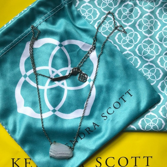 Kendra Scott Jewelry - Kendra Scott Isla necklace blue lace agate